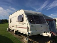 Bailey Pageant Auvergne 1998 50th anniversary edition with Dorema Awning