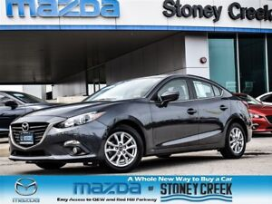 2014 Mazda MAZDA3 GS AUTO,SUN+FOGS+HEATD, ALLOY,LOW KMS,1 OWNER!