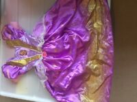 Rapunzel Tangled Fancy Dress Princess Dress Age 5-6 years