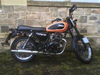 Herald Classic 125cc Motorcycle