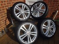 Audi A3/ S3 Wheels and Tyres, like new