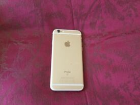 Apple iPhone 6s gold 64GB unlocked to any network excellent condition and boxed with charger