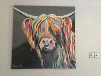 Large McCoo Canvas by Stephen Brown