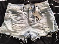 Topshop BNWT size 8 shorts