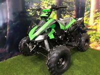 125cc Hi-Per Quad bike for kids. **SCOTQUADS** **LIMITED STOCK** **RESTRICTABLE THROTTLE**