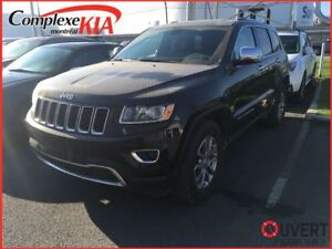 2016 Jeep Grand Cherokee Limited TOIT OUVRANT 4X4 CUIR DEM.DIST