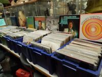 massive clearance sale of vinyl lps & singles weekends only 11-4pm