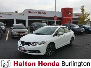 2014 Honda Civic Sedan Touring | ALLOYS | LEATHER | SUNROOF | RE