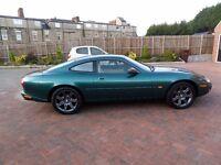 1997 Jaguar XK8 Coupe 4.0 Auto in Jaguar metallic racing green with Full leather cream upholstery
