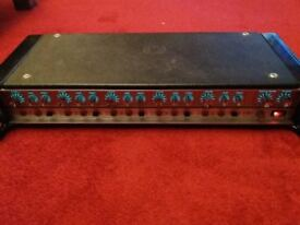 HH 5 CHANNEL MIXER AMP 100W