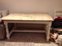 Wooden kitchen table in good condition