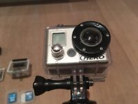 Go Pro HD HERO - Great condition and loads of extras! SD cards, GorillaPod etc