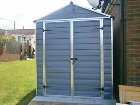 GARDEN SHED (MAINTENCE FREE) 6ftx5ft