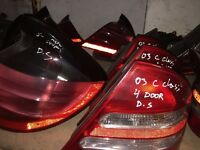 MERCEDES BMW PASSAT AUDI POLO GOLF SAHARAN TOURAN ALL BACK LIGHT AVAILABLE
