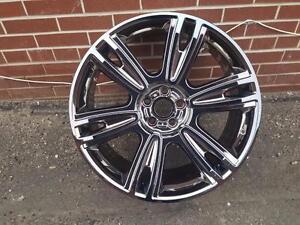 """21"""" Bentley OEM wheels in PVD Chrome"""