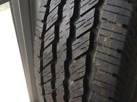 4 new continental tires 245 75r17