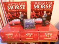 Complete set of Inspector Morse videos for sale