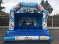 FROZEN BOUNCY CASTLE for hire / Popcorn & Candy Floss / Hot Dogs + more / Essex & London