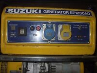 Used, (G) 1.2KW SMALL SUZUKI 4 STROKE PETROL GENERATOR for sale  Randalstown, County Antrim