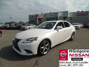 2015 Lexus IS 350 AWD LUXURY, 305HP, CUIR, TOIT, NAV, 1 PROPRIO
