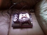 Ps3 console for sale with 3 controllers