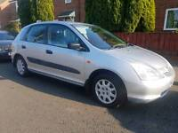 Honda civic 1.4 S 2002 79,000 5 door