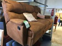 Leather sofa 3 seater (ref W.942)