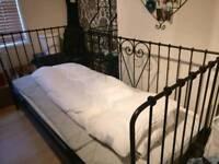 Lovely IKEA Cast Iron Style Single Bed