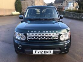 Land Rover Discovery 4 SDV6 XS 2012