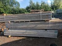3.9m Used Scaffold Scaffolding boards - good condition