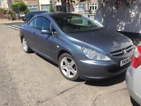 PEUGEOT 307 2.0 CONVERTIBLE NEEDS CLUTCH SPARES OR REPAIRS