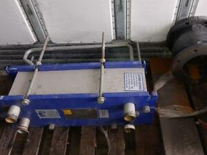 Alfa Laval Plate Heat Exchangers, MG-FG, 122.7 Ft2, 78 Plates