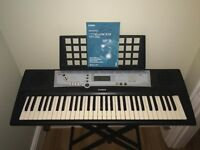 Yamaha YPT-200 Digital Keyboard and stand