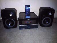 Sony HCD-BX77DBi CD / DAB / IPhone Docking Station / Hifi + JBL Speakers