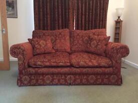 Deep and comfortable 2 seater sofa