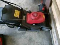Honda hrx self propelled mower
