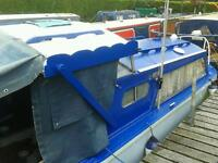 Boat for sale on canal
