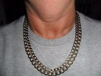 2 9ct gold chains