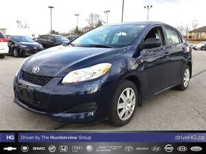 2014 Toyota Matrix 4A | ONE OWNER | LOW KM |