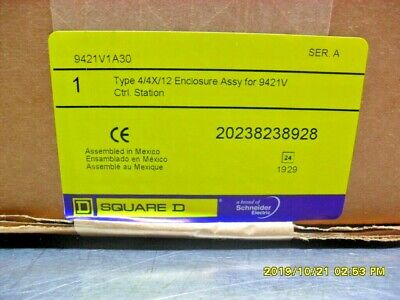 Square D 9421v1a30 Disconnect Switch Nib Sealed