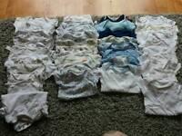 Baby boy bundle of clothes