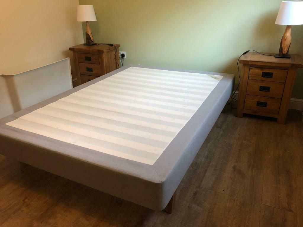 reputable site 0415f 1fc05 IKEA sultan Aksdal double bed frame | in Caerphilly | Gumtree