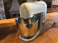 KENWOOD KMIX STAND MIXER ( NEW ) CREAM AND STAINLESS STEEL