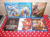 X6 NEW BLU RAYS - £15 FOR ALL