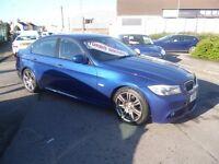 Stunning BMW 318D M Sport,4 door saloon,6 speed manual,FSH,full MOT,1 previous owner,2 keys,only 59k