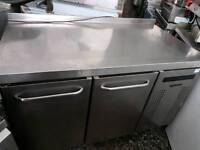 Gram 2 door bench fridge