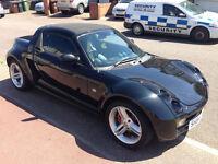 Smart Roadster Convertable - Whole black - SemiAuto - 0.7 engine -