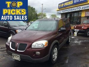 2008 Pontiac Montana SV6 SV6, BUCKETS, POWER GROUP!