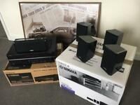 Surround system Yamaha Receiver Speaker and Subwoofer Amplifier 5.1, Home Theatre