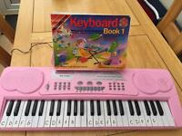 Child's learning keyboard